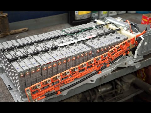 Prius Hybrid Battery Pack Repair - YouTube