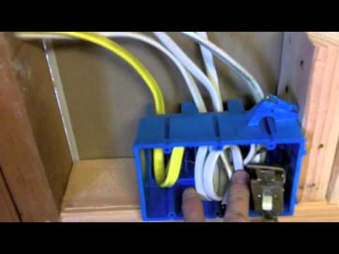Custom Kitchen Remodel Rough Electrical 7 Youtube