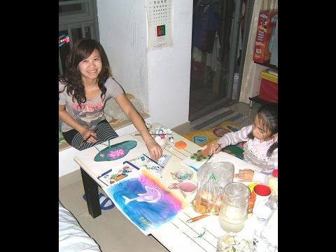 Tingting the Artist - First Time Visiting Shenzhen (China)