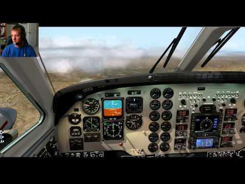 X-Plane 10 - Multiple failures with live ATC.