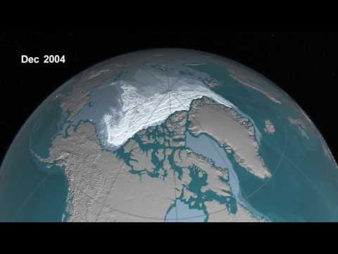 Globalne ocieplenie - zanik pokrywy lodowej w arktyce