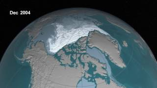 Older Arctic Sea Ice Disappearing thumbnail