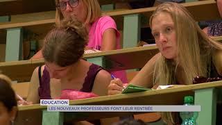 Éducation : la pré-rentrée des enseignants dans les Yvelines
