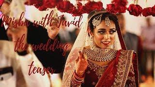 Misba with Javid the wedding teaser