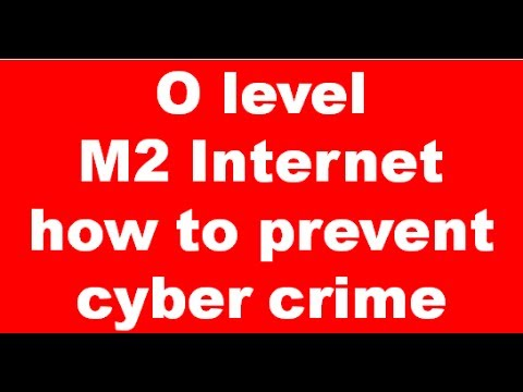 cyber crimes and steps to prevent Cyber crime: preventing young people from getting involved more and more teenagers and young people are getting involved in cyber crime many do it for fun without.