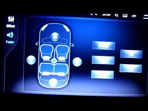 2 DIN Android 7.1 Multimedia radio Peugeot 307