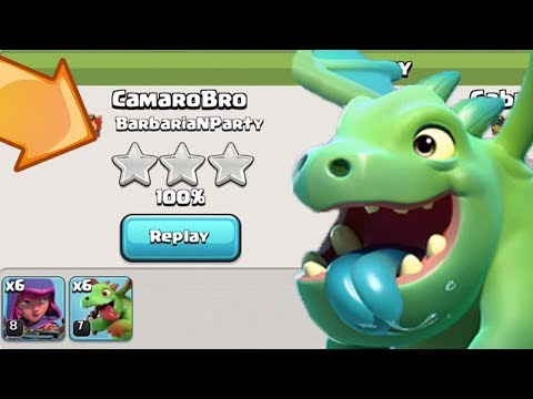 BH 4 BABY DRAGON 3 STARS, SO EASY   Clash of Clans   Builder Base Best Attack