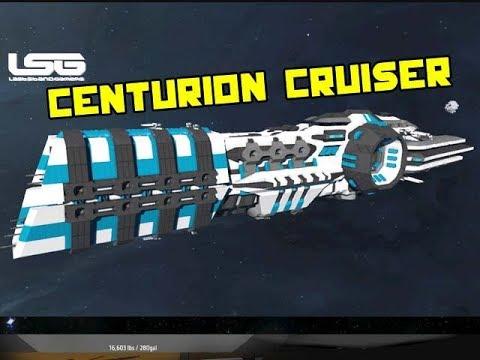 Centurion Light Cruiser - Space Engineers