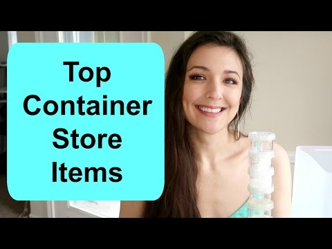 10 Top Container Store Items