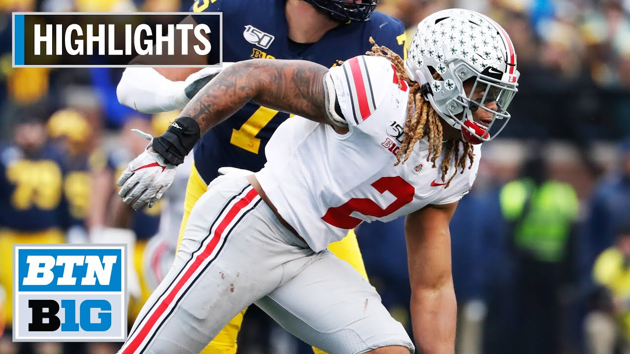Highlights: Chase Young Declares for 2020 NFL Draft | Ohio State | B1G Football