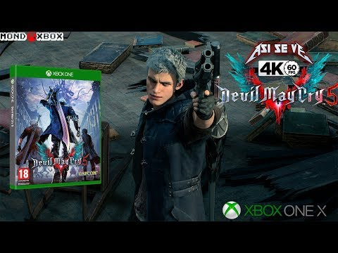 [4K] Así se ve la demo de Devil May Cry 5 en Xbox One X a 4K y 60fps thumbnail