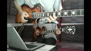 revenge the fate kashmir-guitar cover