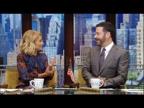 Jimmy Kimmel Joins Kelly Ripa As Guest-Cohost After Michael Strahan