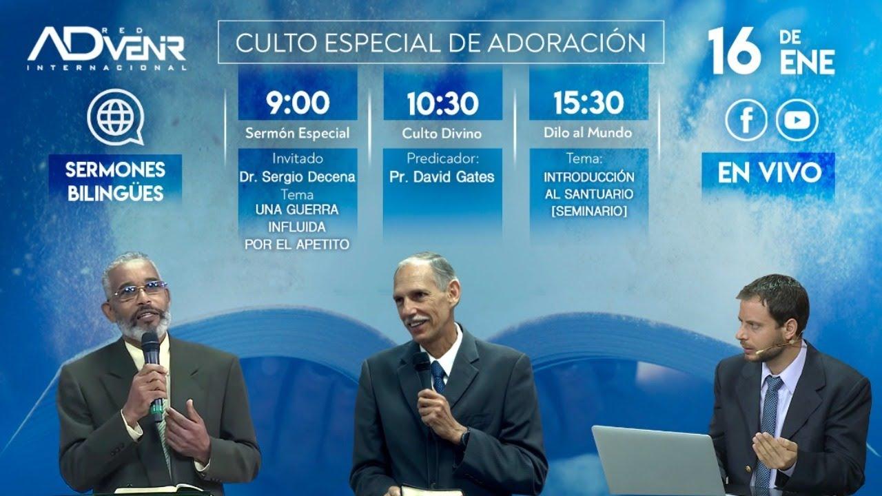 Sábado especial 16 de Enero 2021 - Dr. Sergio Decena y Pr. David Gates