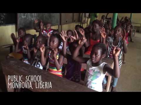 Let It Shine- Children in Nepal and LIberia sing This Little Light