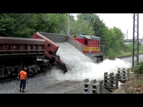 Reconstruction of train way