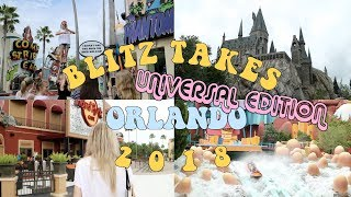 BLITZ TAKES ORLANDO | Vlog 3: Universal Studios Orlando, The Wizarding World of Harry Potter