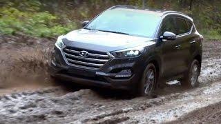 Hyundai Tucson 2015 первый тест драйв
