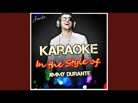 September Song (In the Style of Jimmy Durante) (Karaoke Version)
