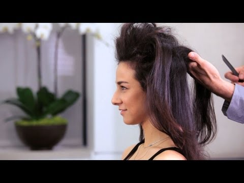 How To Tease Long Hair | Long Hairstyles