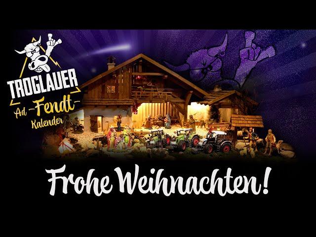 TROGLAUER - Ad-FENDT-Kalender - Frohe Weihnachten!