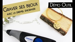 DIY Saint Valentin 💖 Comment graver ses bijoux avec la Dremel engraver ?