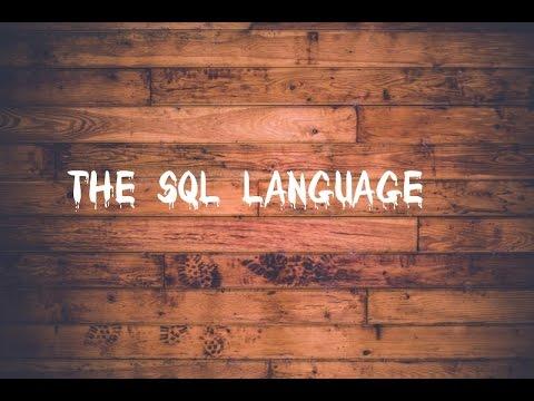 The SQL Language