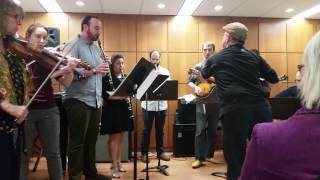 3 The Bride's Waltz Columbia University Klezmer Band Spring 2017