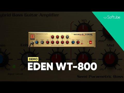 Eden WT-800 Bass Amp Demo – Softube