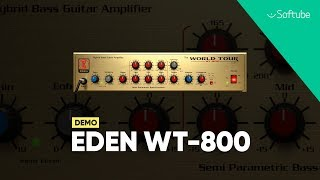 Eden WT-800 Bass Amp Demo – Softube