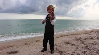 Митя Махонин (7 лет) -  А.Вивальди - Гроза