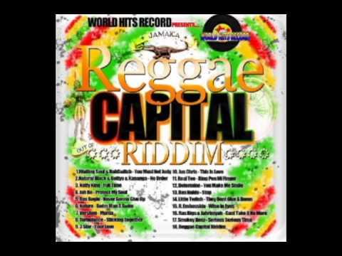 REGGAE CAPITAL RIDDIM (WORLD HITS RECORDS) 2014 Mix Slyck