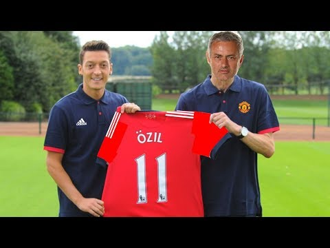 MESUT OZIL CONFIRMS TRANSFER TO MANCHESTER UNITED AT TRAINING GROUND