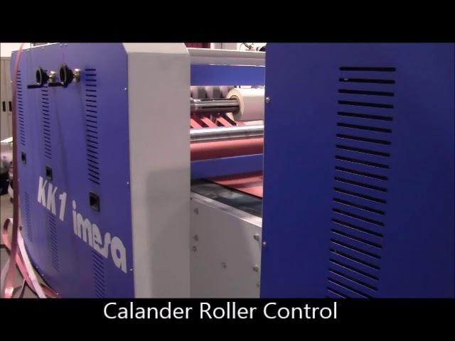 IMESA Model KK1 Laminator, Slitter & Rewinder