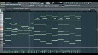 Orchestral Piano Beat Composition [FL Studio 10]