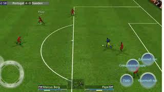 Футбол в игре футбольный победитель Португалия Швейцария