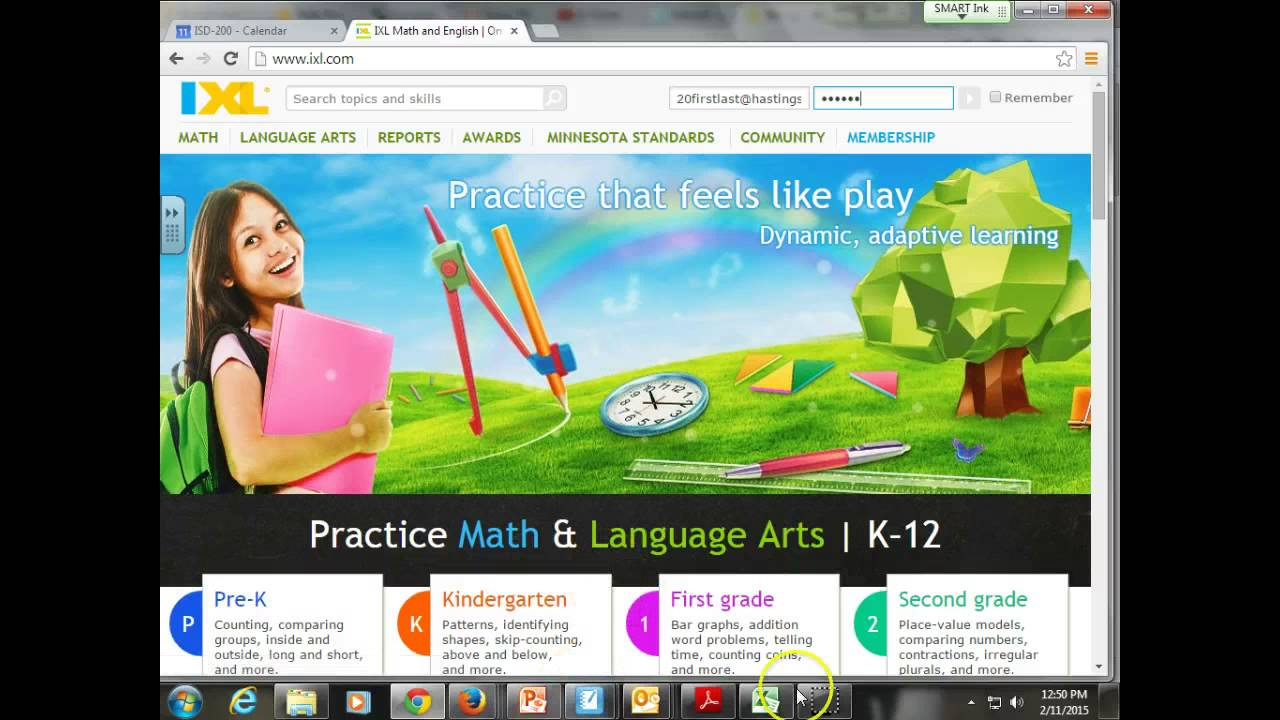 How to login to iXL - YouTube
