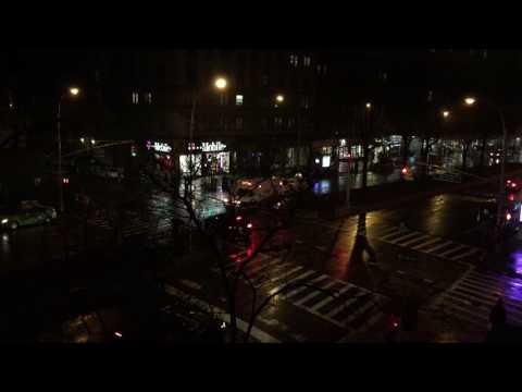 NEW & DIFFERENT HATZOLOH EMS VOLUNTEER AMBULANCE RESPONDING ON BROADWAY IN MANHATTAN, NEW YORK CITY.