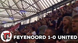 MAN UNITED FAN CHANTS | FEYENOORD 1-0 UNITED | EUROPA LEAGUE