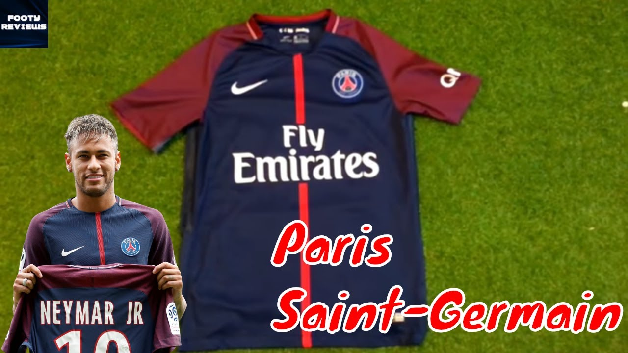 new style 99119 b78a1 DHgate PSG 2017/18 HOME JERSEY Review