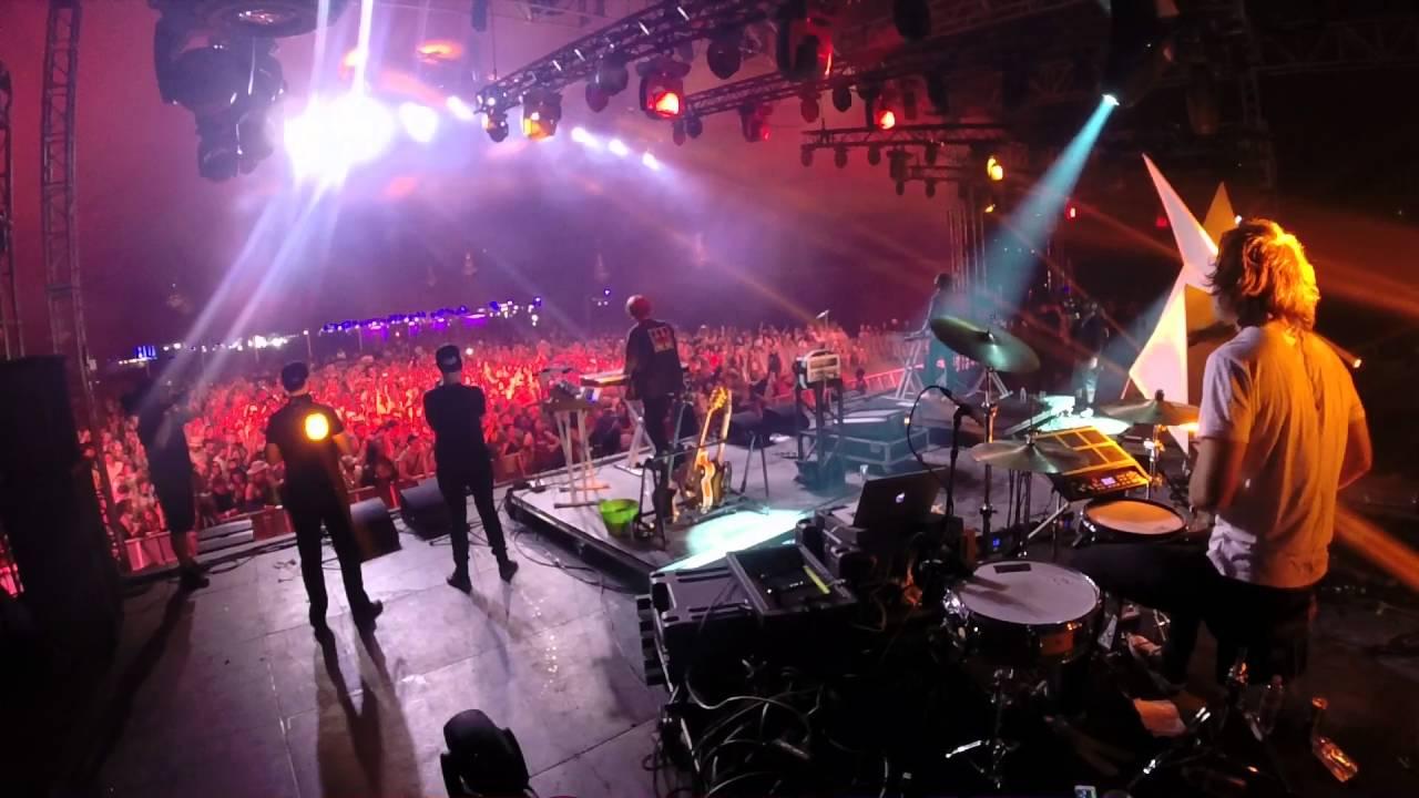Closer  Lemaitre Live At Coachella Go Pro Hd  Youtube
