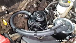 Установка дополнительного топливного фильтра на Toyota Hilux