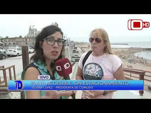 Playa accesible, sin estacionamiento: Nota con Silvina López, presidenta de COMUDIS