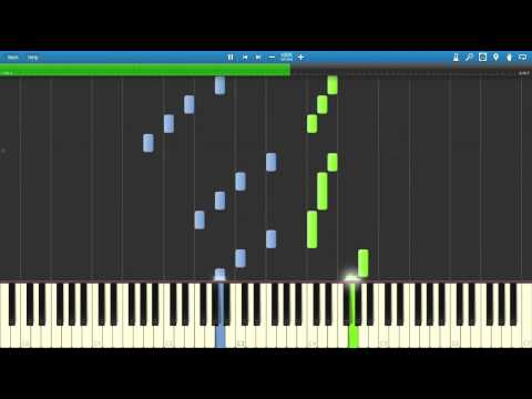 Saltwater Room - Owl City (Piano Tutorial) [Synthesia] + Sheet Music By Trigerpro