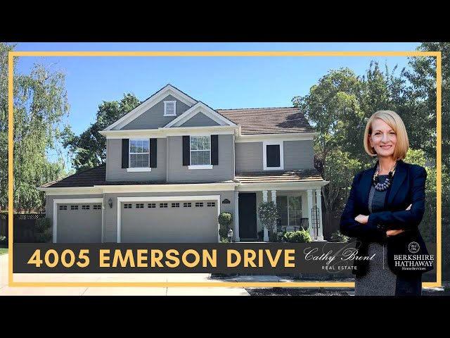 4005 Emerson Drive, Livermore, CA 94551 | Cathy Brent Real Estate