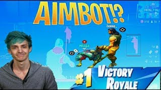 Aimbot glitch for Fortnite (NO HACKING NEEDED)