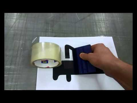 Как сделать трафарет своими руками. How то make stencil by yourself.