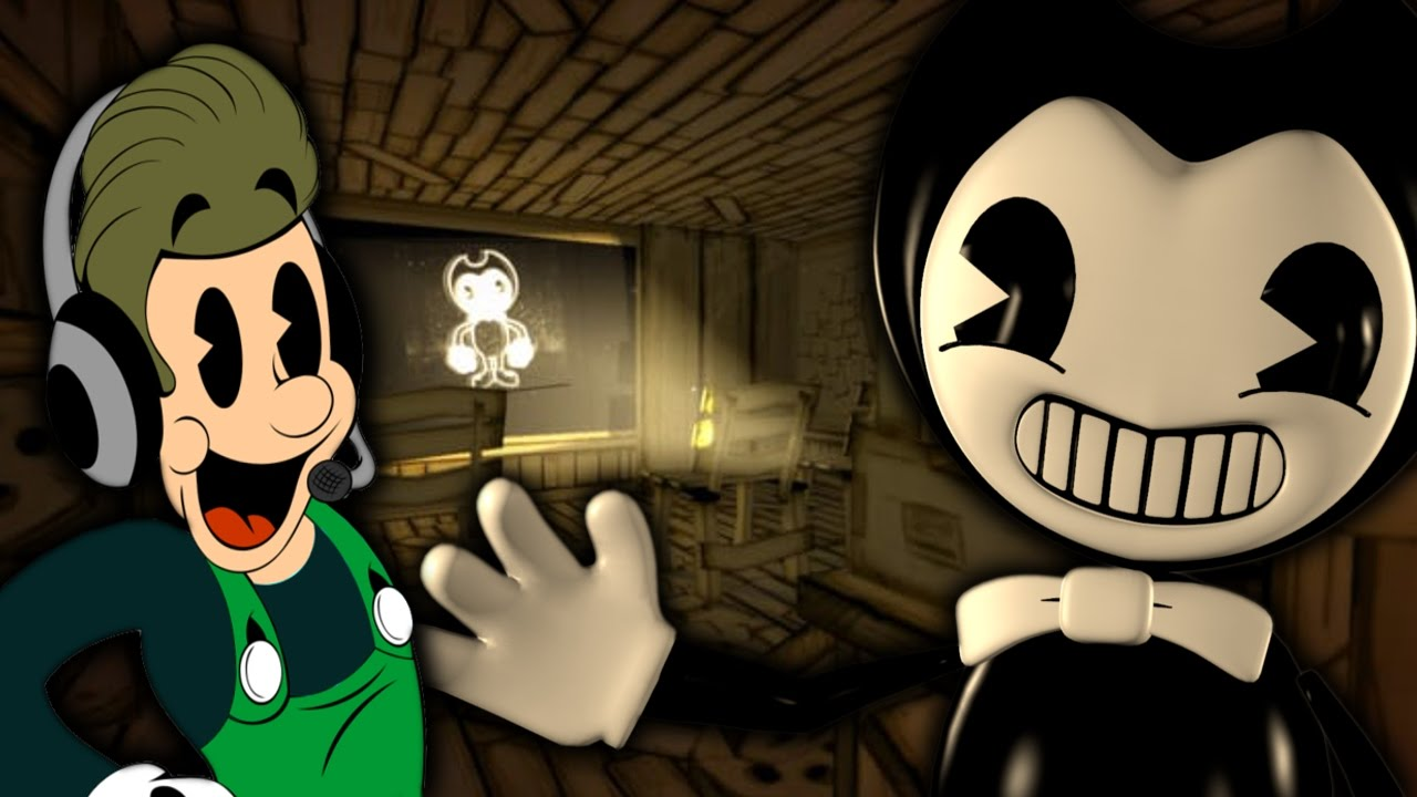bendy and the ink machine 2d