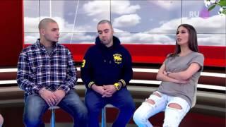 CENTR (Slim, Птаха) и Кети Топурия (А-Студио) в передаче Стол Заказов на RU TV 21.03.2016