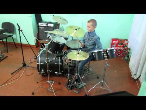 Rammstein  Waidmanns Heil  Drum   Drummer Daniel Varfolomeyev 10 years